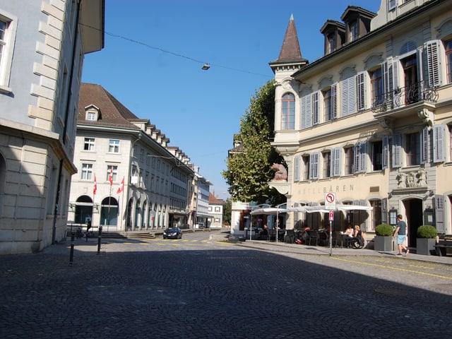 Stadtzentrum von Langenthal.