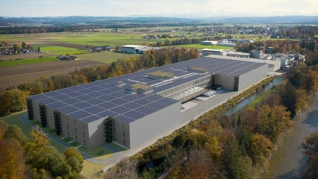 Geplantes Logistikzentrum in Utzenstorf.