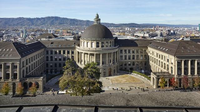 Gebäude der ETH in Zürich.