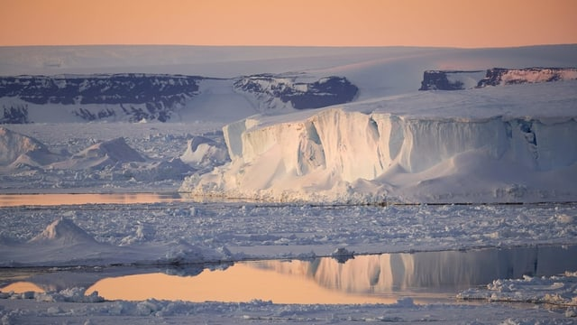 Il glatsch en l'Antartica