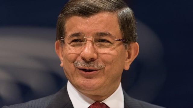 Ahmet Davutoglu vor dem Europarat.
