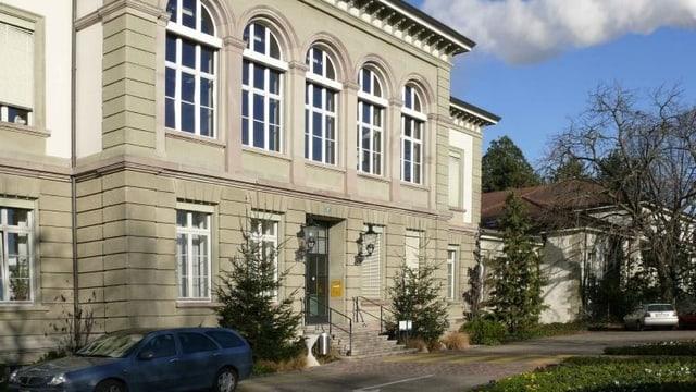Eingangsgebäude der UPK an der Wilhelm Klein-Strasse