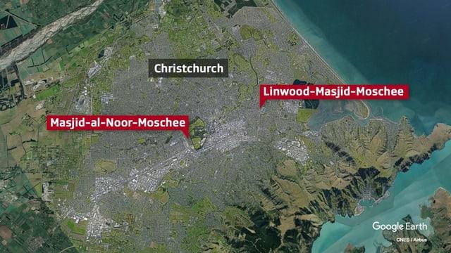 karte Christchurch