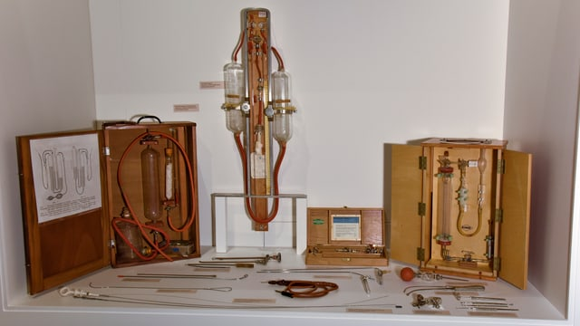 Instruments per il tractament da la malsogna da tuberculosa.