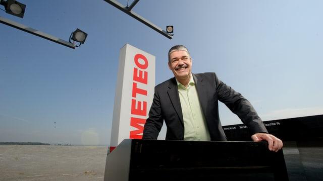 Meteorologe Felix Blumer