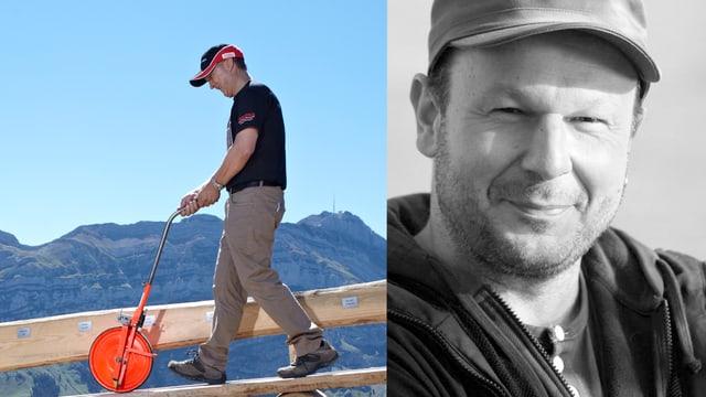 Porträts von Markus Wetter (links) und Stefan Forster (rechts).