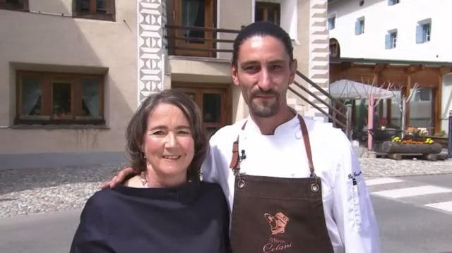 Video «Kanton Graubünden – Tag 3 – Chesa Stüva Colani, Madulain» abspielen