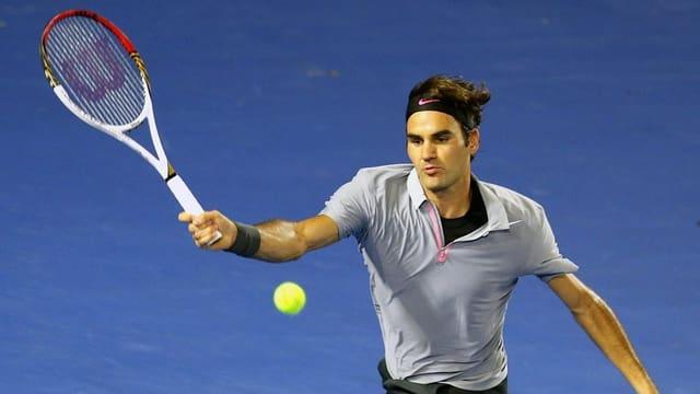 Roger Federer schwärmt vom Turnier in Brisbane.