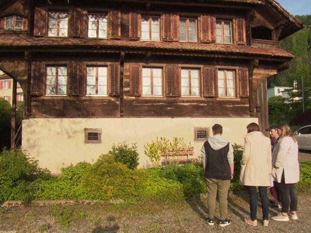 300-jähriges Haus