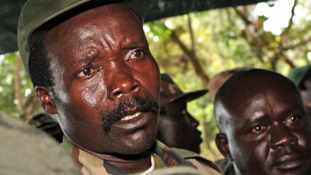Joseph Kony im Sudan. Bild von 2006. (keystone)