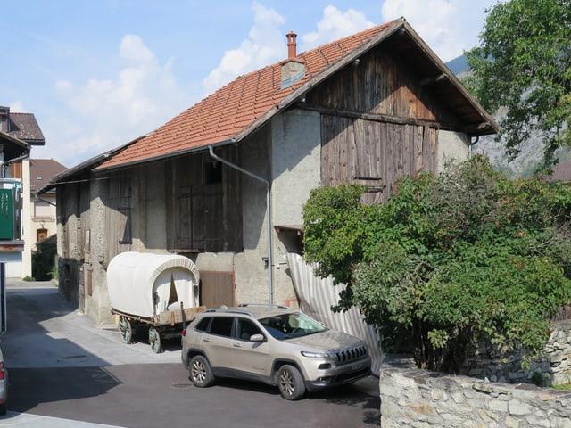 Alte Scheuen in Turtmann.