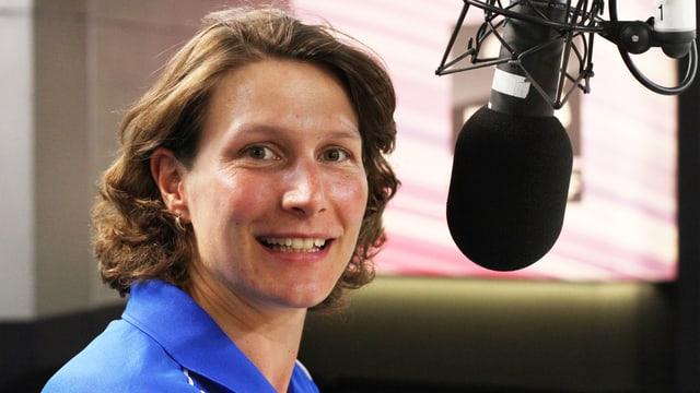 Kathrin Lehmann ist die neue Fussballexpertin bei SRF 3.