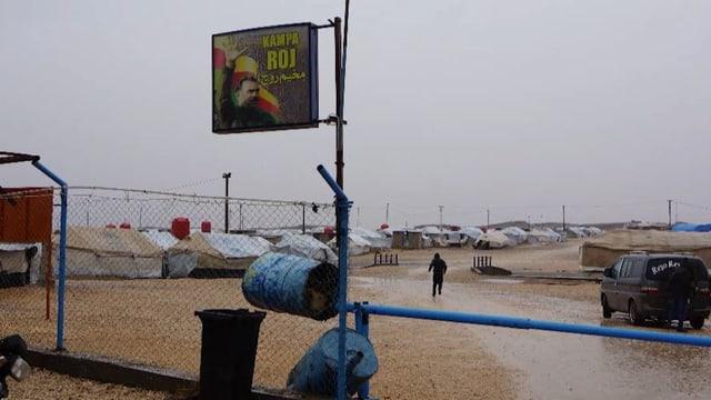 Flüchtlingslager Camp de Roj