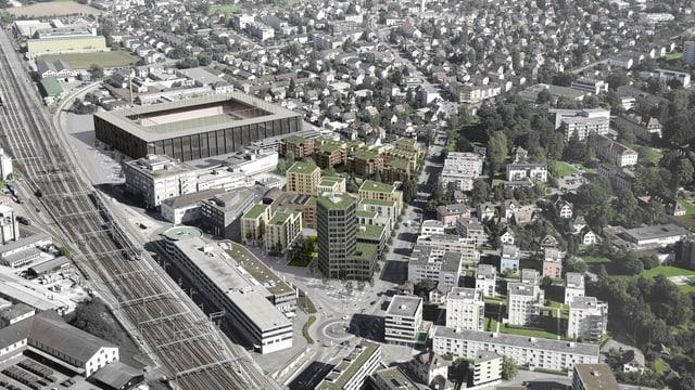 Quartier-Visualisierung