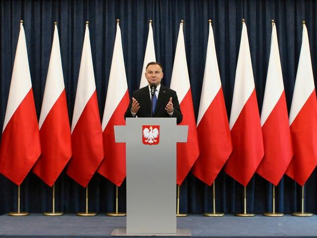 Polens Präsident Andrzej Duda.