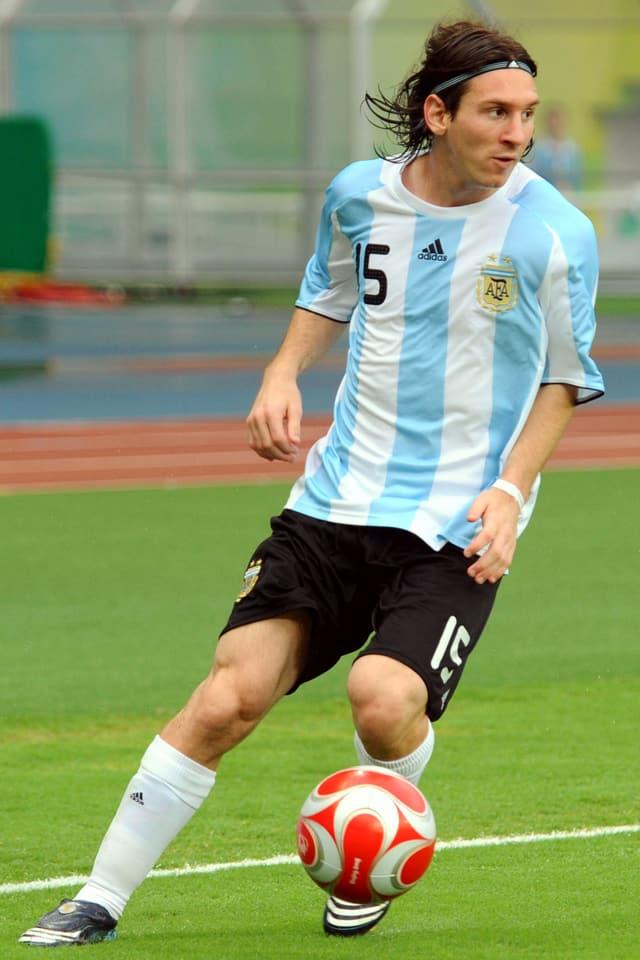 Lionel Messi 2008.