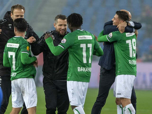 Der FC St. Gallen.
