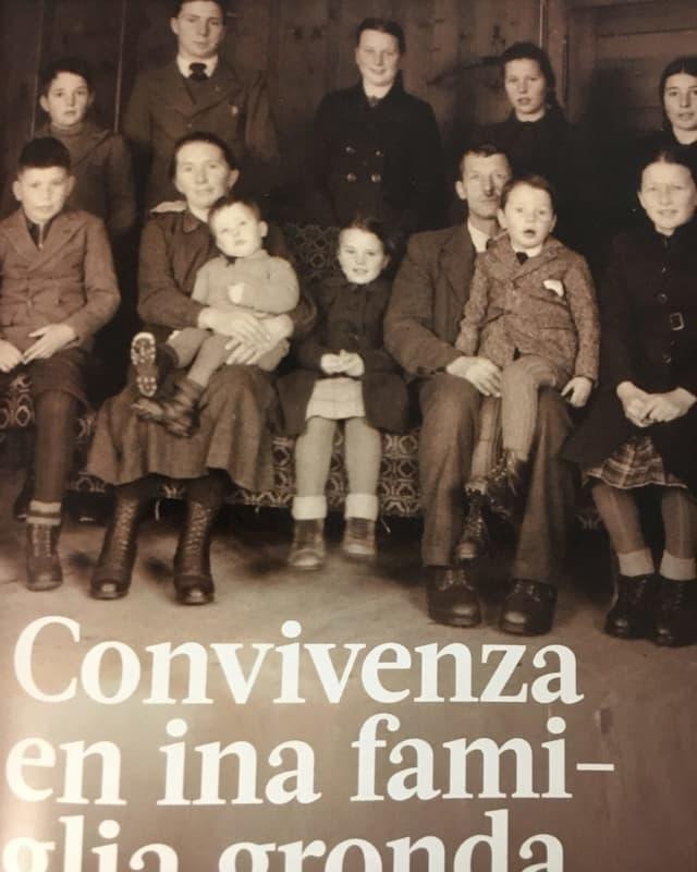 La famiglia Seiler-Cavegn 1942.