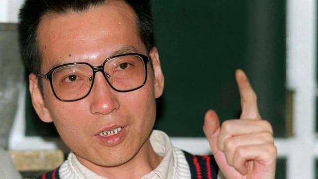 Der chinesische Friedensnobelpreisträger und Dissident Liu Xiaobo.