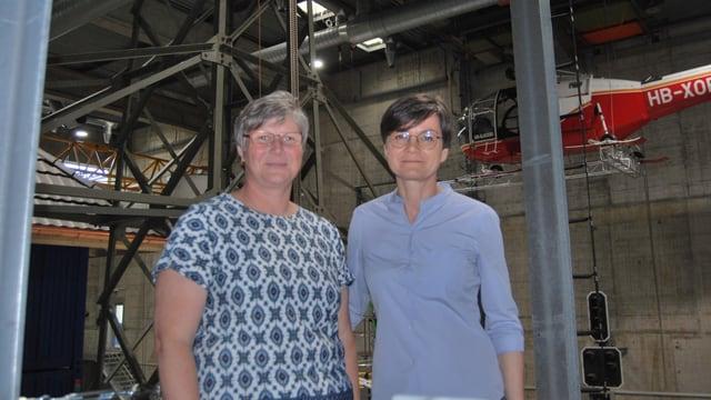 Mangja Suter (links) und Judith Wirt (rechts)