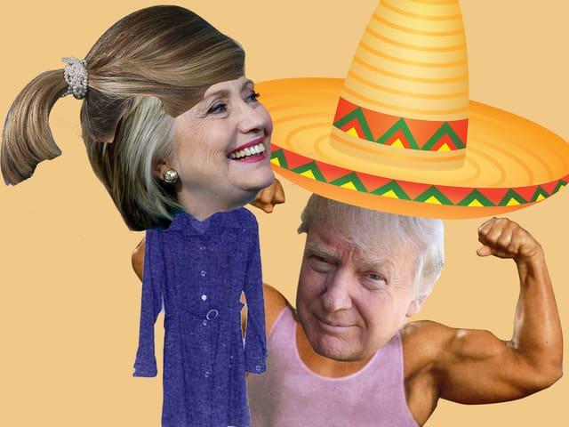 Hillary Clinton & Donald Trump