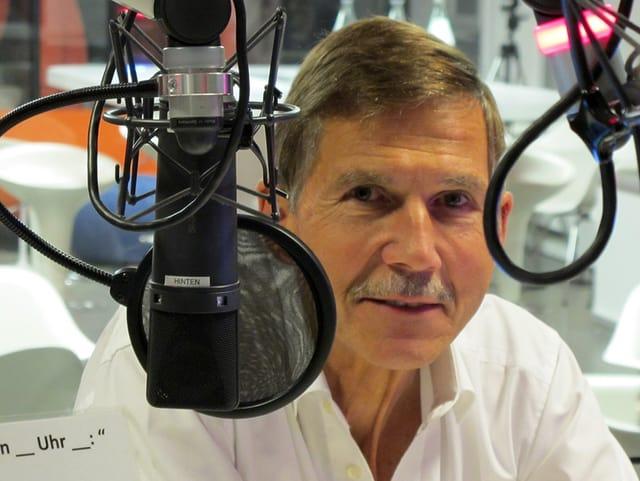 Urs Winzenried zu Gast im Radiostudio.