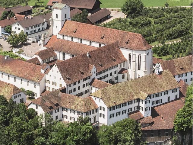 Luftaufnahme Kloster Mariastein