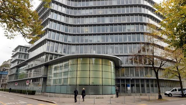 Gebäude Bank Vontobel