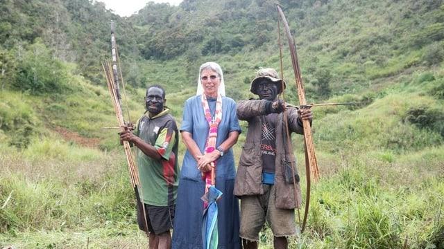 Muniessa Lorena Jenal a Papua Nova Guinea.