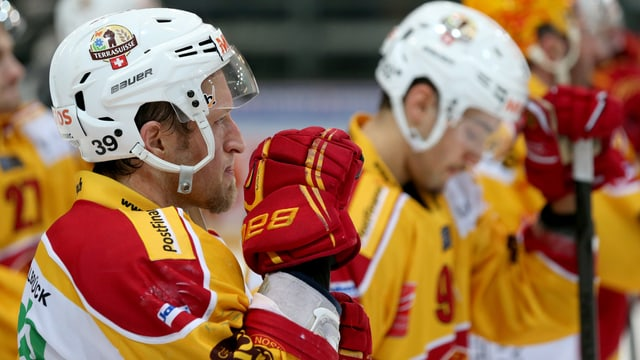 Jörg Reber (links) und seine SCL Tigers.