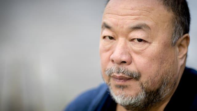 Porträt des chinesischen Künstlers Ai Weiwei