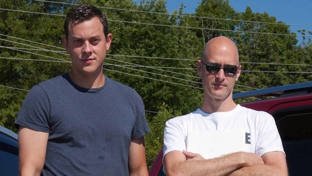 Chris Valasek (l.) und Charlie Miller