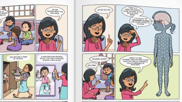 Comic Menstrupedia