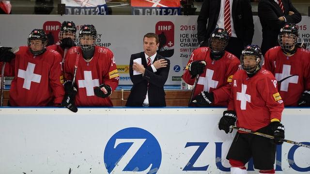 La squadra naziunala dals juniors n'ha betg pudì nizzegiar l'avantatg da chasa en il mez-final.