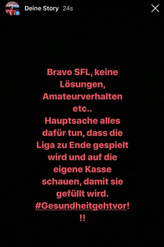 Instagram-Post von Lenjani