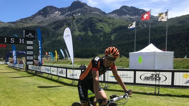Simon Vitzthum guodgna Engadin Bike Giro