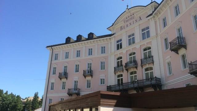 Il Hotel Bernina a Samedan