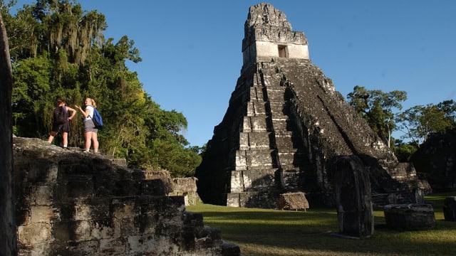 Ein Blick auf den Tikal.
