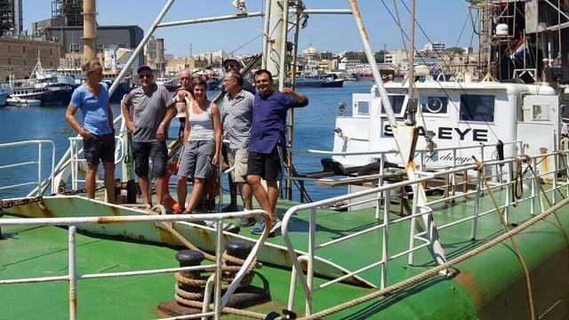 Die Crew der «Sea-Eye»