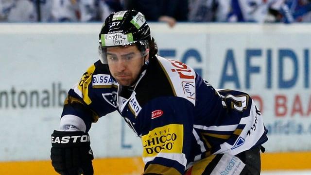 Fabian Schnyder hat beim EVZ eine wichtige Rolle.