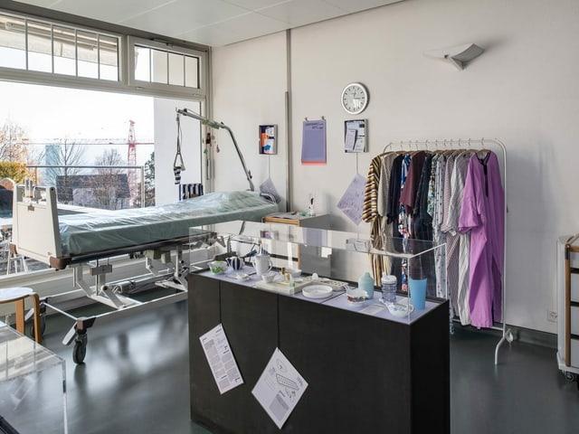Blick in ein Spitalzimmer