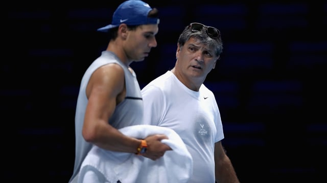 Toni Nadal an den ATP Finals in London.