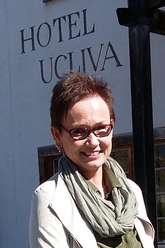 Ursula Wilhelm, la nova fittadina dal Hotel Ucliva.