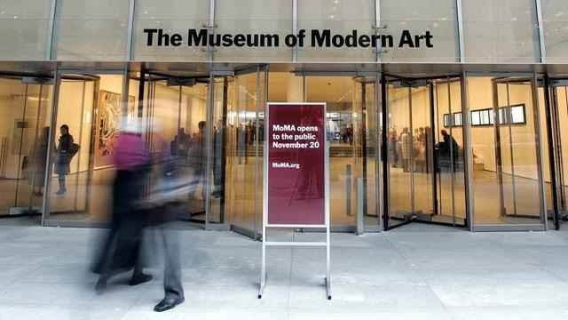 Entrada museum d'art New York.