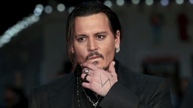 Portrait Johnny Depp.
