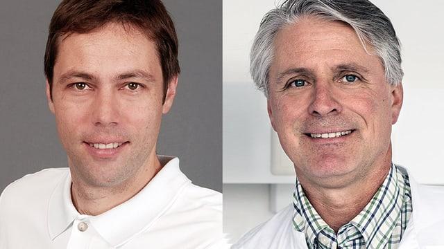 Portzraitaufnahmen der beiden Experten