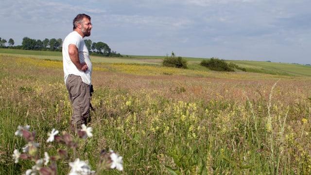 Bild von Hanspeter Hunkeler auf seinem Feld