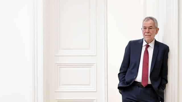 Il nov president austriac Alexander van der Bellen.