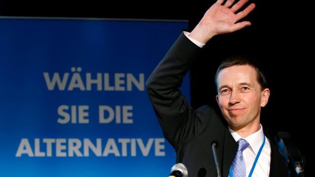 Bernd Lucke, Hamburger Wirtschaftsprofessor und Gründungsmitglied der AfD.