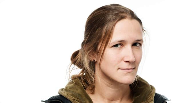Porträt der Brunner Autoirn Martina Clavadetscher